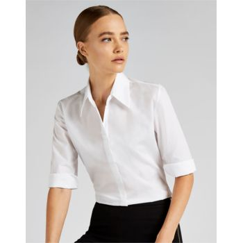 Ladies' Continental 3/4 Length Sleeve Blouse Thumbnail