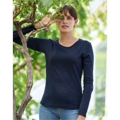 Tee Jays Lady Long Sleeve Interlock Tee Thumbnail